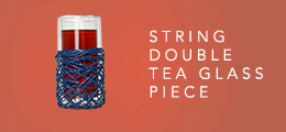 String Double Tea Glass Piece.html
